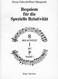 Buchtitel: Requiem für die Spezielle Relativität